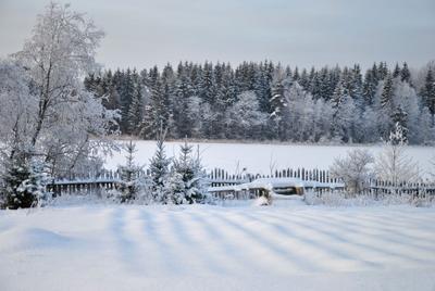 Зима в деревне. Зима снег деревня