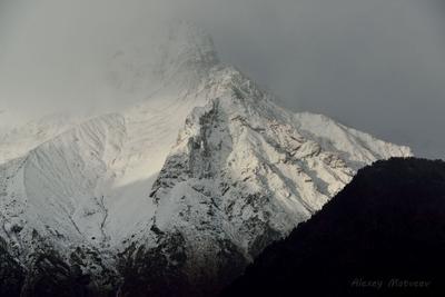 Свет и тьма горы кавказ Осетия