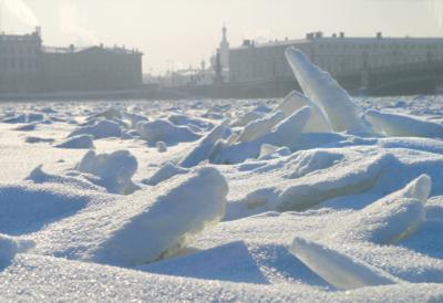 Лёд на Неве