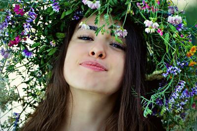 Лето дочь лето море река цветы тепло красота