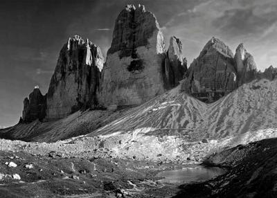 О трех из Лаваредо! Tre Cime di Lavaredo Доломиты Горы