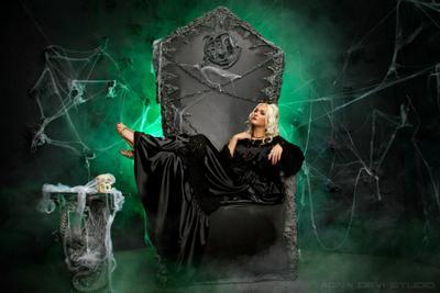 Катенька... агна деви студия трон кресло мебель красота девушка красивая фотостудия с интерьером готика искусство agna devi studio