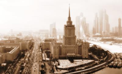 Мистическая Москва: ретро стиль Москва