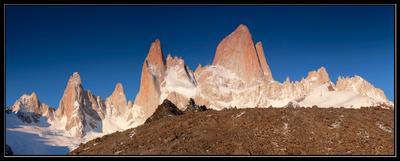 Наперегонки с рассветом Argentina, South Patagonia, Fitz Roy, Аргентина, Южная Патагония, Фитц Рой