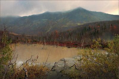 *Озерцо в Хибинах* фотография путешествие Кольский полуостров Фото.Сайт Светлана Мамакина Lihgra Adventure