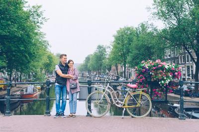 Влюбленные в Амстердаме амстердам голландия лав стори амстерам фотопрогулка уличная фотография фотосессия в городе фотограф нидерланды love story