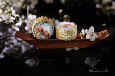 По весенней реке роллы суши