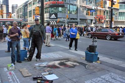 Художники с большой дороги. Торонто