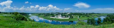 Свято-Успенский мужской монастырь Свято-Успенский монастырь Старица Тверская область