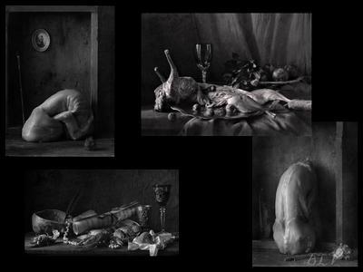 По волне моей памяти(из архива)...Бессильная красота.. натюрморт панно архив ванитас бессилие