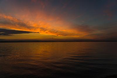 Летний вечер на Увильдах Озеро закат отдых безмятежность