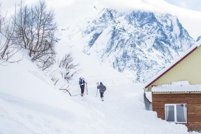 Последний приют природа горы пейзаж горнолыжный курорт снег