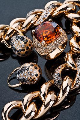 Gold black diamonds Gold black diamonds Profoto Pro-7A