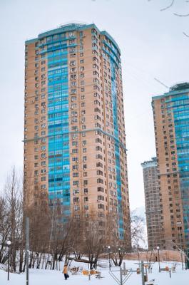 Город Город дом здание этажи зима район небо