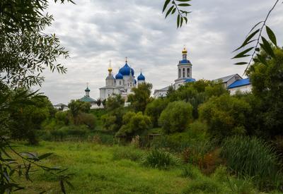 Боголюбово (3) храм церковь монастырь пруд Боголюбово