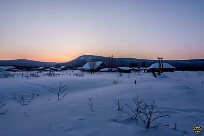 *** зимние рессветы фото пейзажи зимнего утра