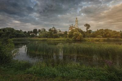 Ивановская обл, село Лежнево озеро горы лес природа закат рассвет красота приключения путешествие