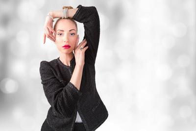 Chanel Chanel Портрет Портретная фотография Женский портрет Рекламная Постановка Костюм Девушка Модель