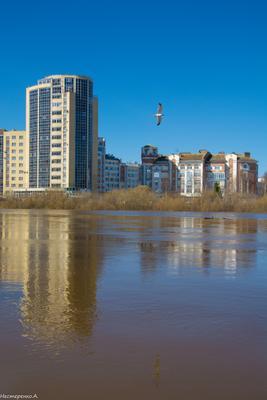 г.Вологда. Вид на реке Вологда