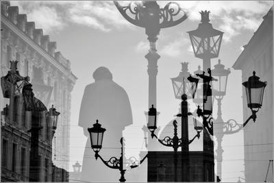 Петербург. Малая Конюшенная улица (2) Петербург Малая Конюшенная мультиэкспозиция