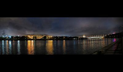 ПанорамкО Воробъевы горы, вечер, осень