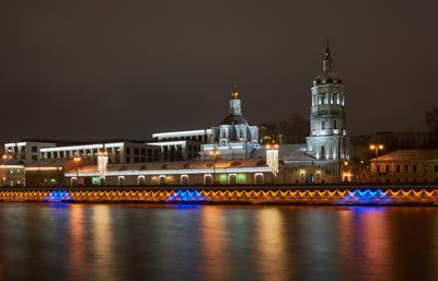 Церковь Николая Мерликийского в Заяицком Церковь Николая Мерликийского в Заяицком Москва зима