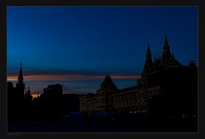 Площадной закат закат площадь Красная
