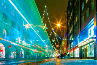 Хельсинки в декабре город финляндия хельсинки улица вечер цвет