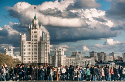 Красота и величие советской архитектуры в одном кадре. Москва Moscow