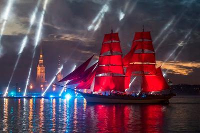 Алые паруса 2018 (1) Санкт-Петербург Нева Алые паруса
