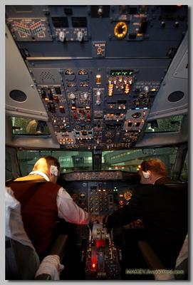 Preflight  procedures  Предполётная, подготовка, самолёт, кабина, боинг, пилот