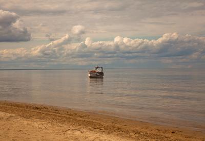 "Ботик ""Mara"" природа море пейзаж"