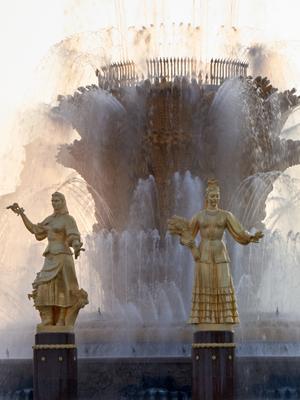 фонтан ВДНХ
