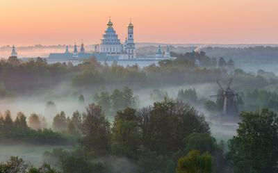 *** Новоиерусалимский монастырь Московская область Истра пейзаж