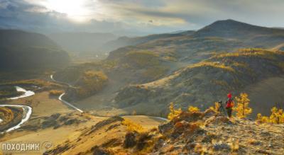 Вечер в Курайской степи. Горный Алтай Алтай осень пейзаж фото-тур