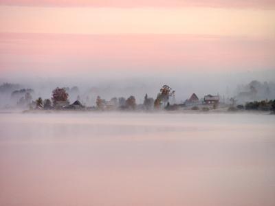 Вселуг - озеро Вселуг Селигер Адворица Осень