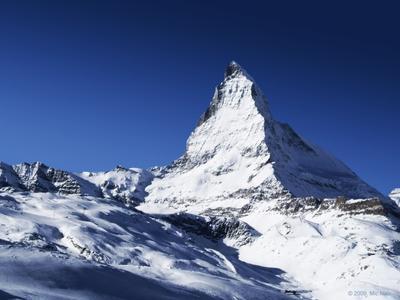Маттерхорн, 4478м Горы, снег