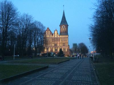 Калининград Калининград Кафедральный собор вечер