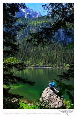 Озеро Гозау (Gosausee Lake), Австрия Озеро Гозау Gosausee Lake Австрия
