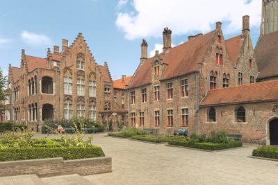 Фламандская архитектура бельгия брюгге архитектура