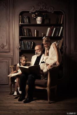 Внучки внучки внучка дедушка книга сказки