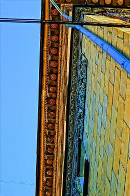 небесный ковёр небо дом крыша черепица старое здание город жилое красивая штучка