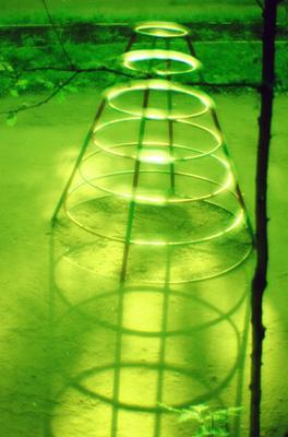 мономеридианы  кольца, пирамида, параллели, меридианы
