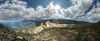 *** Крым прогулка Карадаг горы