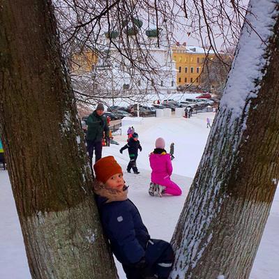Зимние забавы Ярославля Ярославль дети зима 17век Древнееимолодое