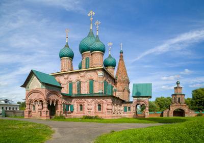 Церковь Иоанна Златоуста Ярославль