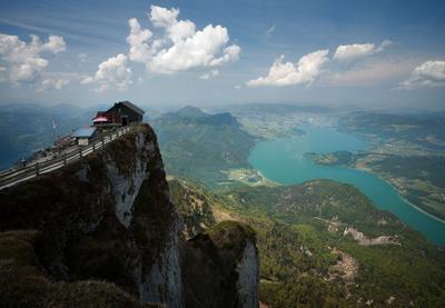 дом на краю света австрия, горы
