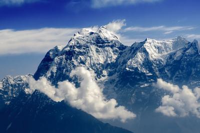 Чамар, 7187м Чамар, Гималаи, Непал