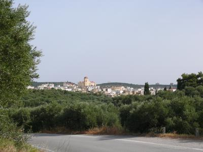 Деревня Паппагианнадес. Крит. Греция