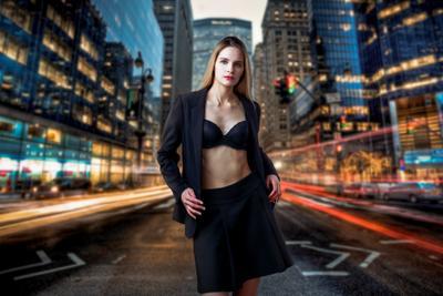 Елена Стрит красивая девушка женский портрет фотосессия